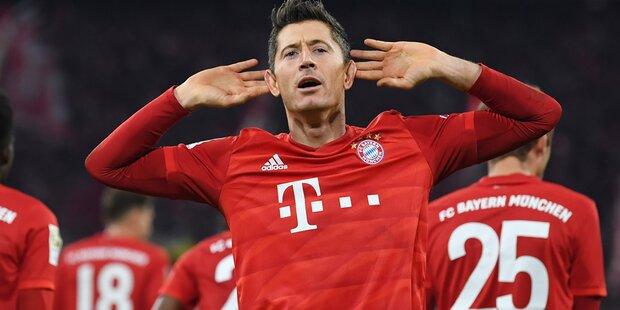 4:0! Bayern fertigen BVB im Schlager ab