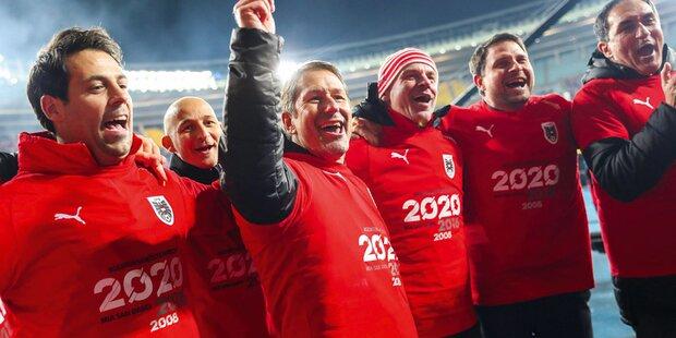 Gutes Los: ÖFB-Team zieht Ukraine & Holland