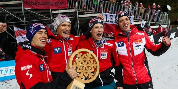 ÖSV-Team gewinnt Weltcup-Auftakt