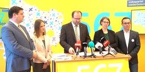 Pressekonferenz – Gemeinderatswahl