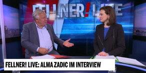 Alma Zadic bei Fellner! LIVE - Teil 1