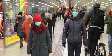 Schutzmasken Virus