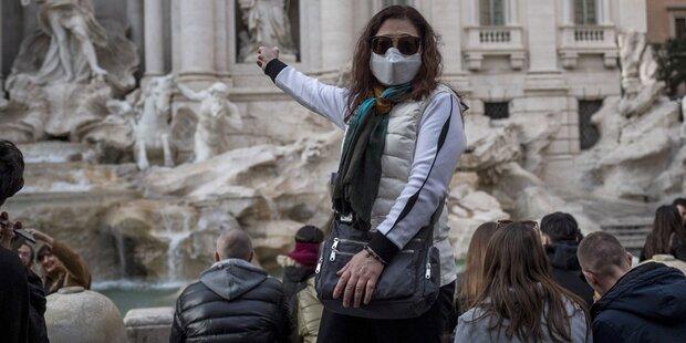 Maskenpflicht im Freien in Italien