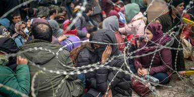 Flüchtlinge Türkei Griechenland Edirne