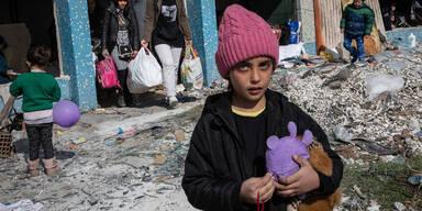 Edirne Flüchtlingskinder inder Flüchtlingskrise