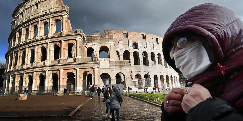 Coronavirus Rom Italien