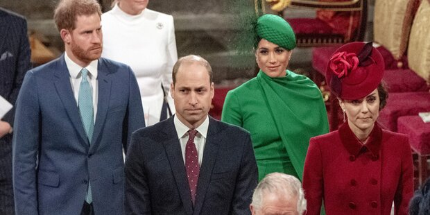 Harry & Meghan: So eisig war erstes Treffen mit Will & Kate