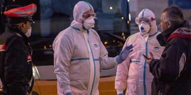 Italien Coronavirus Sperrzone