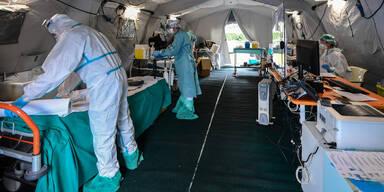 Brescia Quarantänestation Coronavirus Italien
