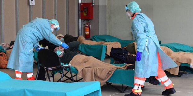 Italien: 475 neue Todesopfer