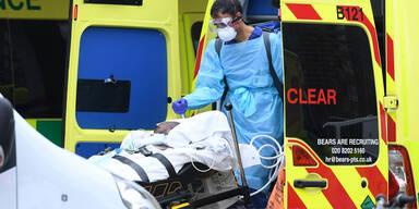Londons Rettungsdienst Coronavirus Vorkehrungen