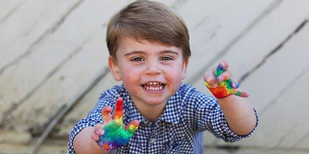 Happy Birthday! Prinz Louis wird schon 2
