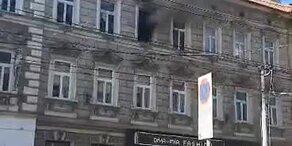 Großeinsatz bei Brand im 16. Wiener Gemeindebezirk