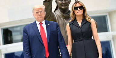 Wo ist Melania Trump? First Lady ist im US-Wahllampf abwesend