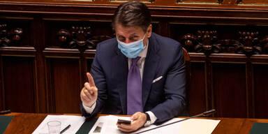 Italienischer Premier Conte reichte beim Präsidenten Rücktritt ein