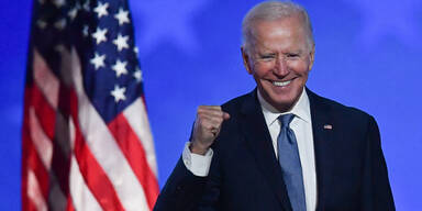 Joe Biden: Bin klar auf dem Weg zum US-Wahlsieg