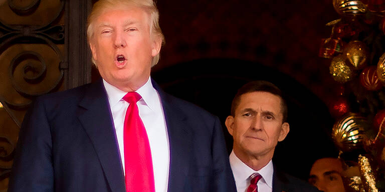 Trump begnadigte ehemaligen Sicherheitsberater Michael Flynn