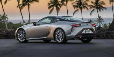Lexus rüstet das LC Coupé auf