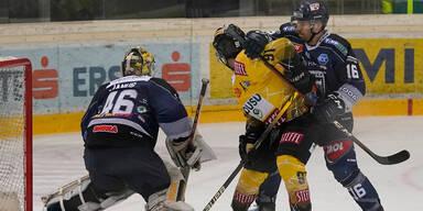 Eishockey: Fehervar kassiert bei den Caps bittere Niederlage