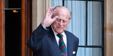 Große Sorge um Prinz Philip