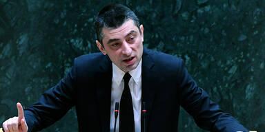 Georgischer Regierungs-Chef zurückgetreten