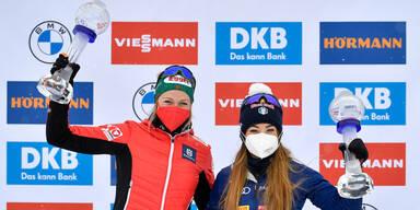 Lisa Hauser auf Platz 13 in Ostersund