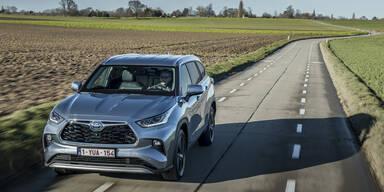 Alle Österreich-Infos zum Toyota Highlander Hybrid