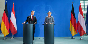 Flüchtlingskrise: Faymann trifft Merkel
