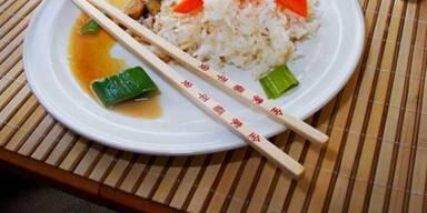Chinesisches Essen macht glücklich