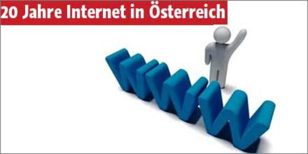 20 Jahre Internet in Österreich