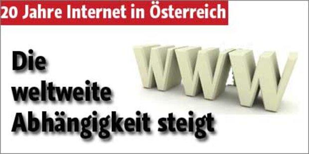 Ohne Internet geht nichts mehr