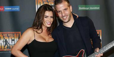 Rafael van der Vaart & Sabia Boulahrouz turteln bei Musical-Premiere