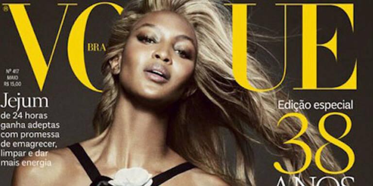 Naomi Campbell plötzlich blond?