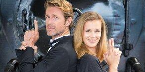 ANTM: Die Models beim coolen 007 Shooting