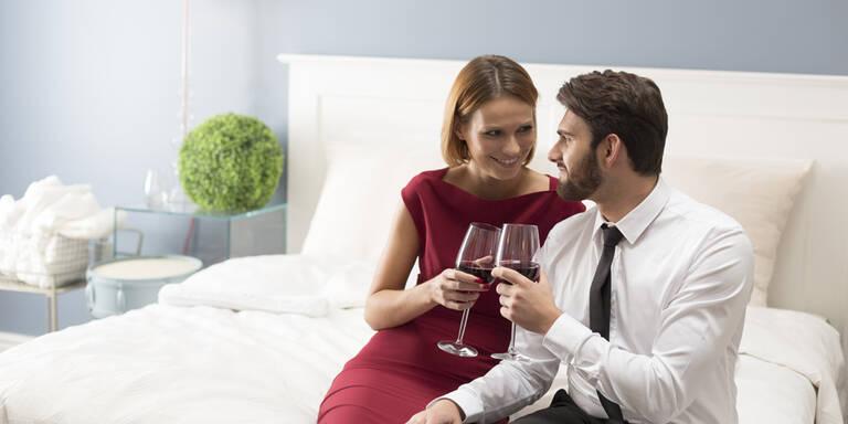 Wann & wo gehen Verheiratete mit dem Liebhaber ins Bett?