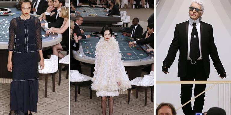 Lagerfeld lädt ins Chanel-Casino