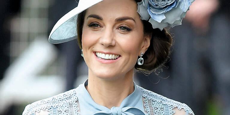 Kate machte Blau