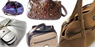 Frau Joop und ihre Handtaschen