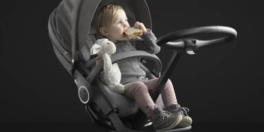 Bestes Kinderwagen Design von Stokke