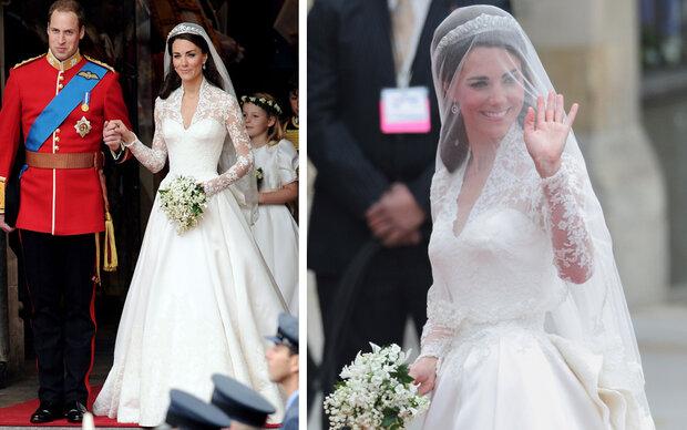 Kates Brautkleid nur eine Kopie?