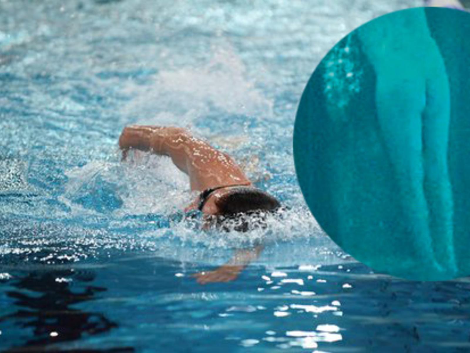 Schwimmerin nackte Nackt Schwimmen