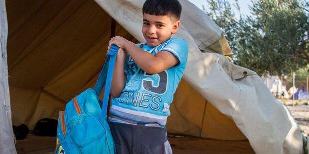 Mit so wenig Hab und Gut fliehen Flüchtlinge