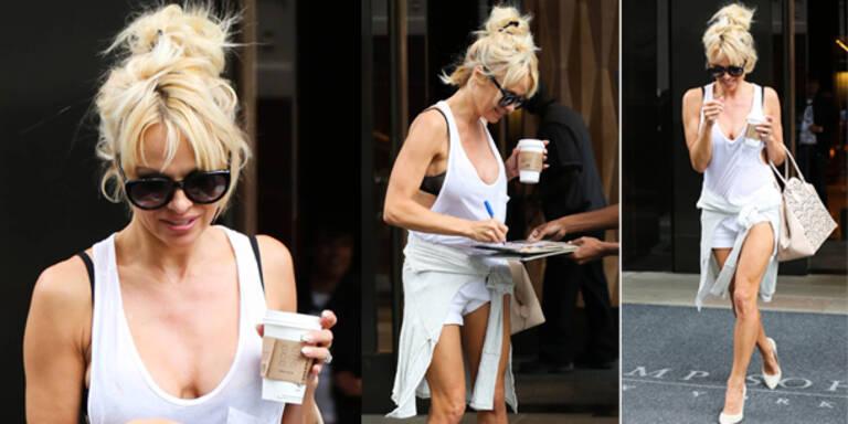Pamela Andersons Style-Desaster