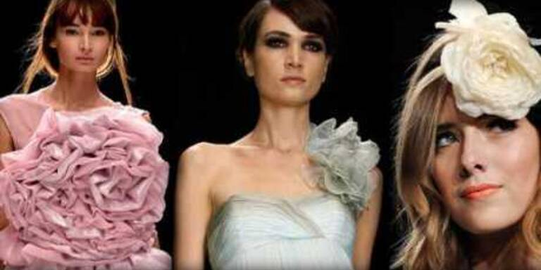 Königin der Blumen erobert Mode