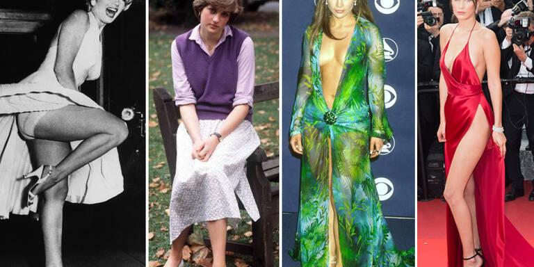 Die nacktesten Kleider der Geschichte