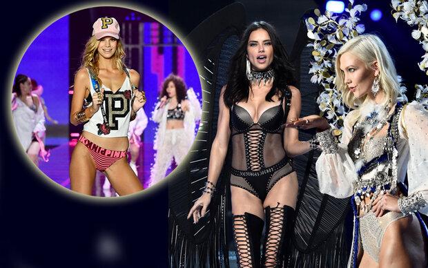 Nadine Leopold rockt die Victoria's Secret Show
