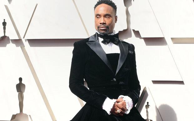 Die beste Oscar-Robe trug ein Mann