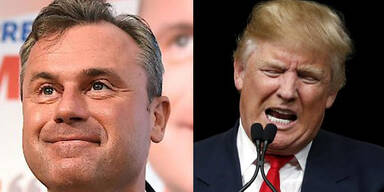 Amis vergleichen Norbert Hofer mit Donald Trump