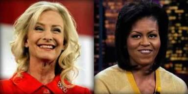 Das Duell der First Ladys