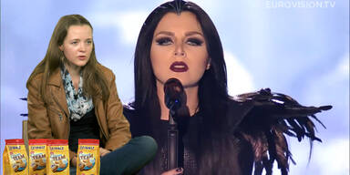 Finale: Georgien mit Nina Sublatti
